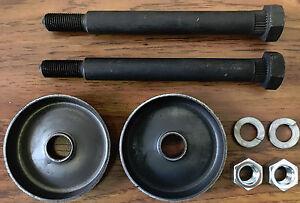 Chevy II Nova 62-67 Leaf Spring Eye Bolts + Anchor Washers Kit 63 64 65 66 rear