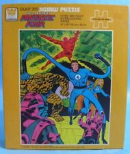 1976 Whitman Marvel Fantastic Four 200 Piece Jigsaw Puzzle Sealed