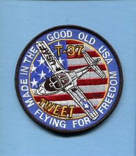CESSNA T-37 TWEET TWEETY BIRD USAF Training Squadron Aircraft Jacket Patch