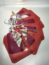 12 x New Estee Lauder Cosmetic makeup Christmas Bag set Red Portable