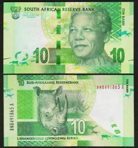 10 RAND 2012 AFRIQUE DU SUD / SOUTH AFRICA [UNC / NEUF] P133