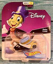 New listing Disney Hot Wheels Character Cars Jiminy Cricket 1:64 Diecast Series 6 (3/6) 2018