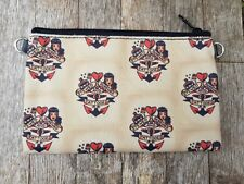 Vintage Sailor Stewed Screwed & Tattooed Purse - Rockabilly Tattoo Retro Clutch