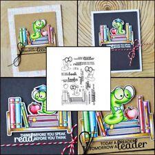 Transparent silicone scrapbooking album photo décoratif DIY tampon en caoutchouc