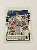 2020 Donruss Baseball Rated Rookie - Adrian Morejon RC - San Diego Padres