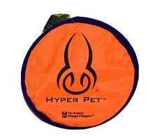 """Hyper Pet Orange Flippy Floppy 9"""" Soft Bite Frisbee Fetch Flying Disc Dog Toy"""