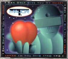 Major T. - I Can Only Give You My Heart - CDM -1994- Eurodance 4TR Dieter Bohlen