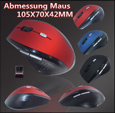 2,4 GHz USB Funk Maus Kabellos Wireless Mouse Optische PC Notebook Computer Maus