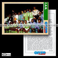 CAN COUPE D'AFRIQUE DES NATIONS PALMARES Photo CÔTE D'IVOIRE Fiche Football 1993
