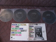 Modern Jazz Japan Vinyl Flexi w Book Miles Davis Coltrane Sonny Rollins Monk MJQ