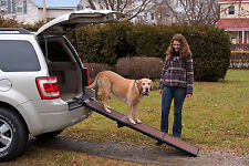 "Pet Gear Travel Lite 71"" Tri-Fold Dog Cat Ramp 200lbs capacity TL9371CH"