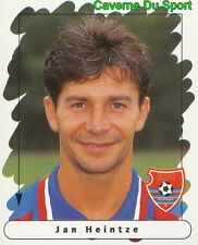 215 JAN HEINTZE DENMARK BAYER 05 UERDINGEN STICKER FUSSBALL 1996 PANINI