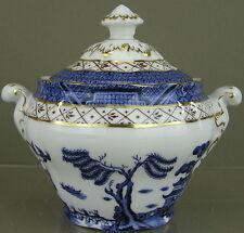 Royal Doulton China, Booths 'Real Old Willow' (TC1126) Pattern, Sugar Bowl w/Lid