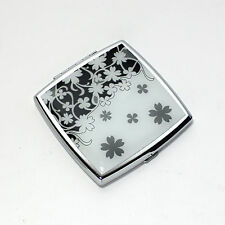 """Acme """"Petal"""" Compact Mirror by Gabrielle Lewin Pre-Owned"""