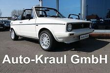 VW Golf I Cabriolet 1.5L GLS Karmann, Oldtimer