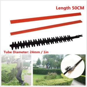 50CM Garden Hedge Trimmer Cutter Lawn Mower Blade Teeth Hedge Brush 24mm Tool