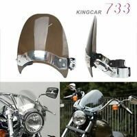 Small Windscreen Windshield For Harley Dyna Forty Eight Low Rider FXRS Smoke