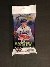 2020 Topps Baseball Series One Fat Pack 34 Cards per Pack. LOOK for Autos Relics