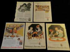 Vintage 1924-1926 Pillsbury Pancake Flour Magazine Print Ad Lot of 5  Qa59