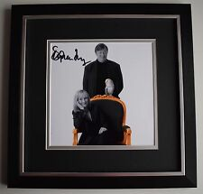 Stephen Fry SIGNED Framed LARGE Square Photo Autograph display JK Rowling & COA