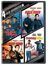 CHRIS TUCKER COLLECTION RUSH HOUR TRILOGY+ JACKIE CHAN CHARLIE SHEEN 4 DISC