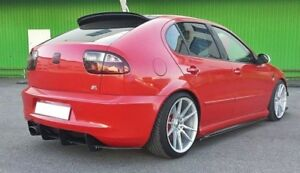 Diffusor Heckdiffusor für Seat Leon Mk1 Cupra Stoßstange 1M1 ABS Heckansatz matt