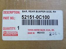 Toyota Tundra Chrome Right Rear Bumper End Cap Genuine OEM 52151-0C100