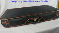 High Grade black double Violin case for two piece violins 4/4