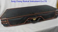 1pcs High Grade black double Violin case for two piece violins