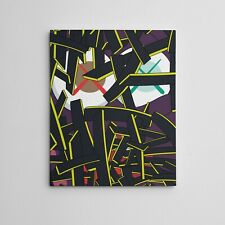 "16X20"" Gallery Art Canvas: Brian Donnelly Paper Smile By KAWS NY Urban Graffiti"