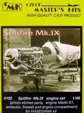 CMK 1/48 Supermarine Spitfire Mk. IX Merlin 61 Engine Set for Hasegawa # 4102