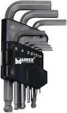 CHIAVI Maurer Plus ESAGONALE CORTE Testa Sferica Pz 9 Mm 1,5-10 Utensili Manuale