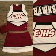 3pc Real Cheerleading Uniform Hs Sz2