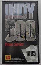 1985 Indianapolis 500 VHS Tape Danny Sullivan Miller American / Penske