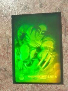 94' marvel Universe Hologram card Wolverine 2 0f 4