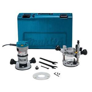 Makita RF1101KIT2 2-1/4-Hp 11.0 Amp 8,000-24,000 Rpm Plunge Router Kit