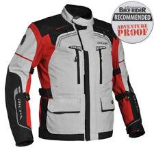 Abbigliamento da pioggia rossi per motociclista taglia XL