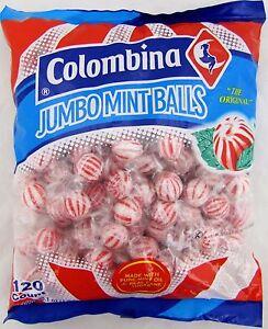 Colombina Jumbo Mint Balls (120 Count)