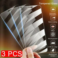 3 Pack - Crystal Clear HD Tempered Glass Screen Protector for iPhone Models