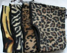 One Fashion Animal Print 3 in 1 Neckwarmer Scarf 100% Polyester Assorted onesize
