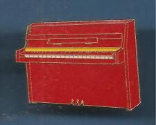 Pin's pin PIANO DROIT ROUGE (ref 082)