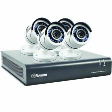 Swann DVR8-4550 1080p HD 8 Channel 2TB CCTV Kit with 4 Bullet Cameras