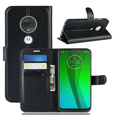Étui Portable Motorola Moto G7 Plus Sac Rabattable Étui à Clapet Etui Neuf