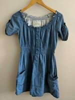 Superdry Vintage Thrift Dress Size 6 <KK863