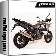 SPARK ESCAPE FORCE APROBADO TITANIO KTM ADVENTURE 1190 2013 13 2014 14 2015 15
