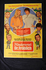 orig Kino Plakat - Kinderarzt Dr. Fröhlich 1972 Roy Black Eddi Arent Hansi Kraus