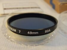 49 mm (Promaster Spectrum 7) 80A Blue Color Conversion Filter