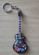 Metallica Tribute 10cm Wooden Guitar Key Chain