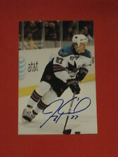 San Jose Sharks JEREMY ROENICK Signed 4x6 Photo NHL AUTOGRAPH 1A