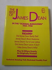 """THE BEST OF JAMES DEAN """"IN THE SCANDAL MAGAZINES"""" 1955-1958 PAPERBACK News Clips"""